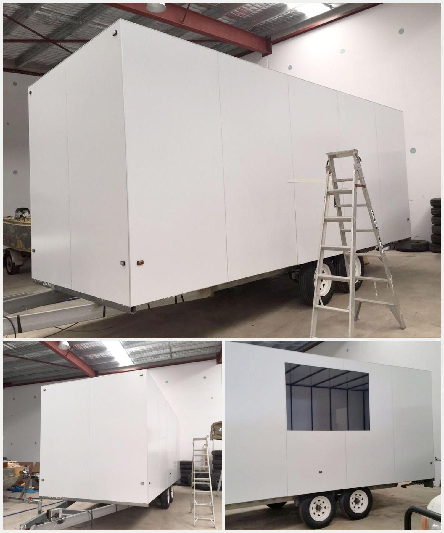 blank food truck design canvas