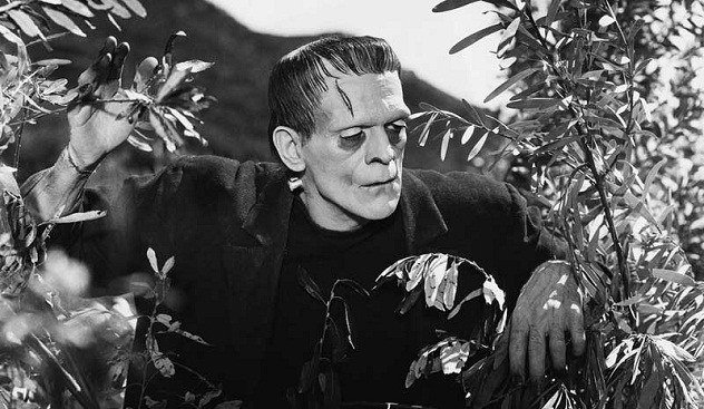 Boris Karloff – the original Frankenstein