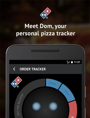 Dom Pizza Tracker