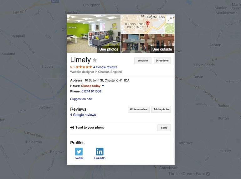 Limely Business Listing