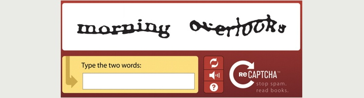 Written Text CAPTCHA