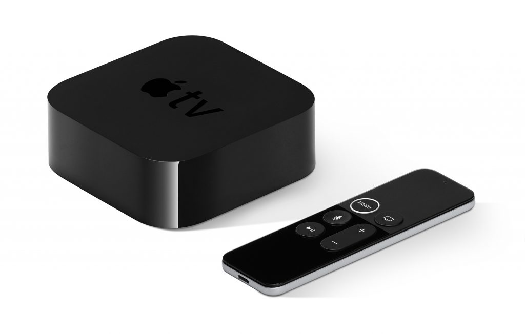 Apple TV smart TV device