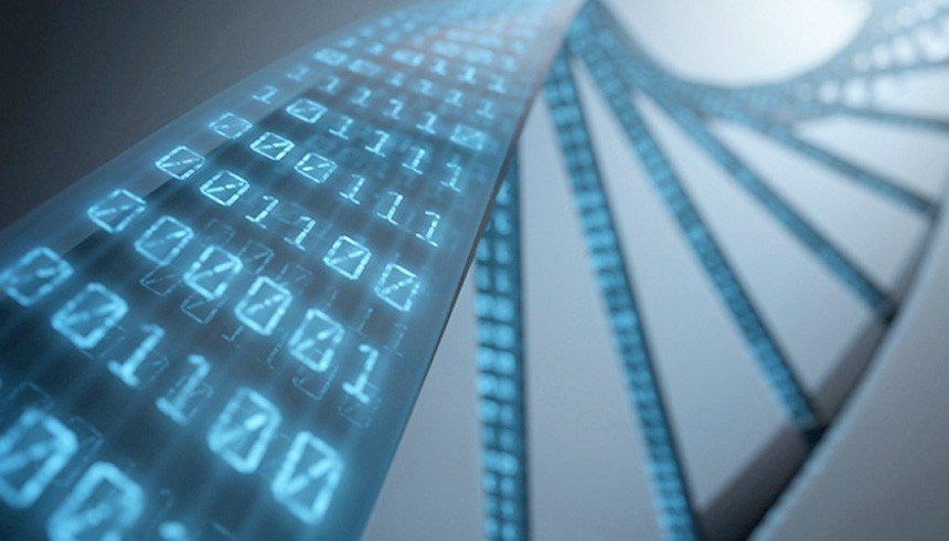 DNA Strands used for data storage