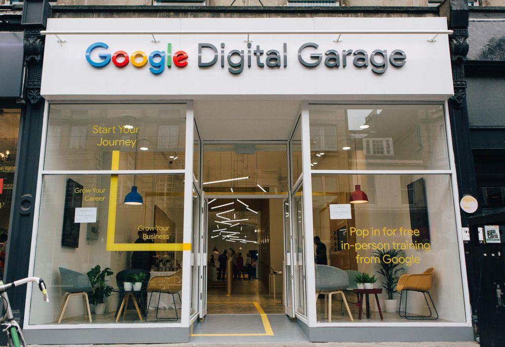 Google Digital Garage Opens For First Time In Scotland Limely