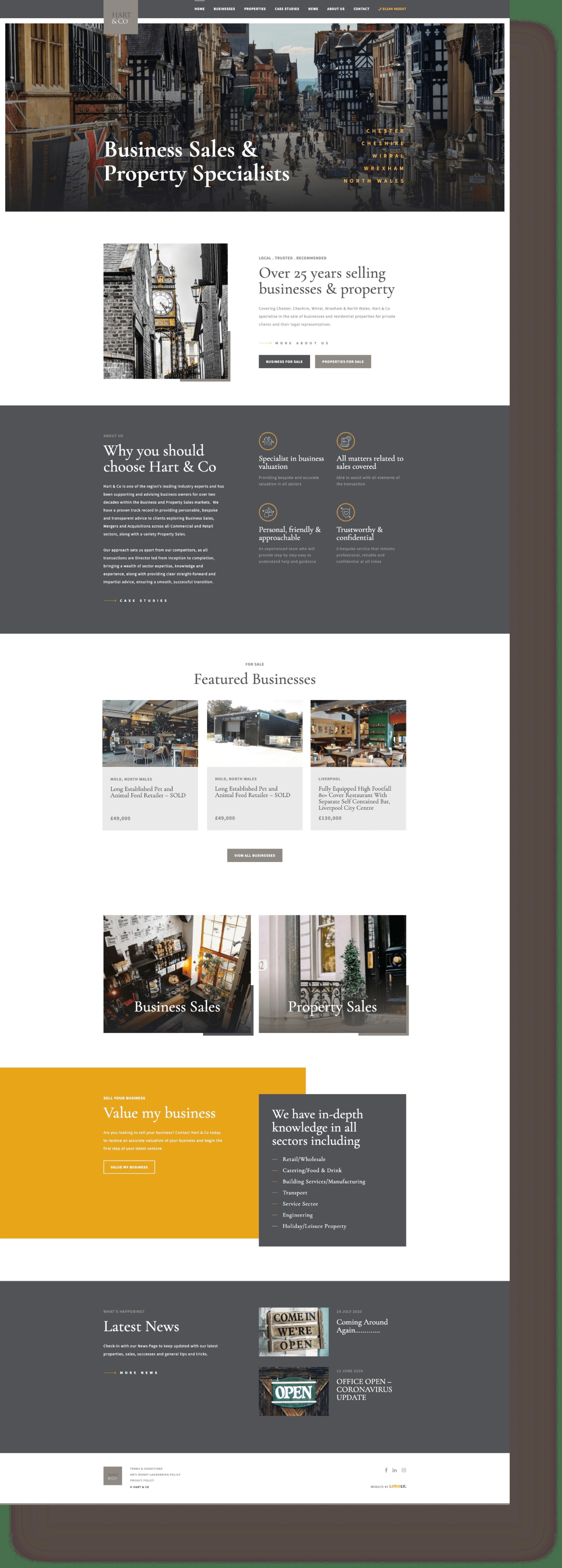 Hart & Co website