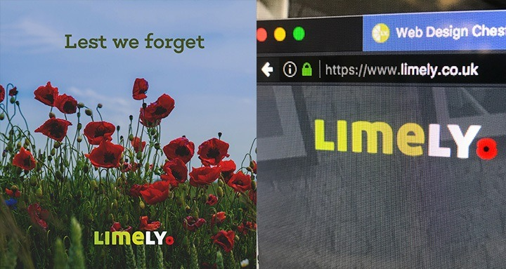Digital agency logo for Remembrance Day
