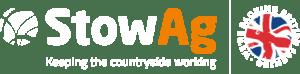 StowAg Logo White