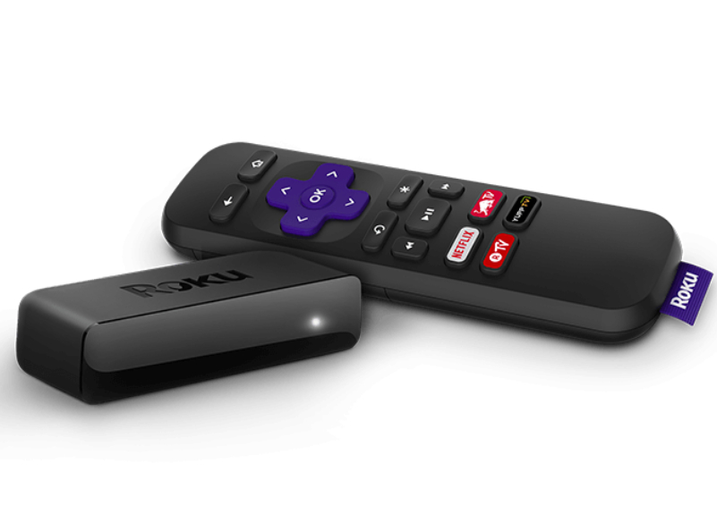 Roku smart TV device