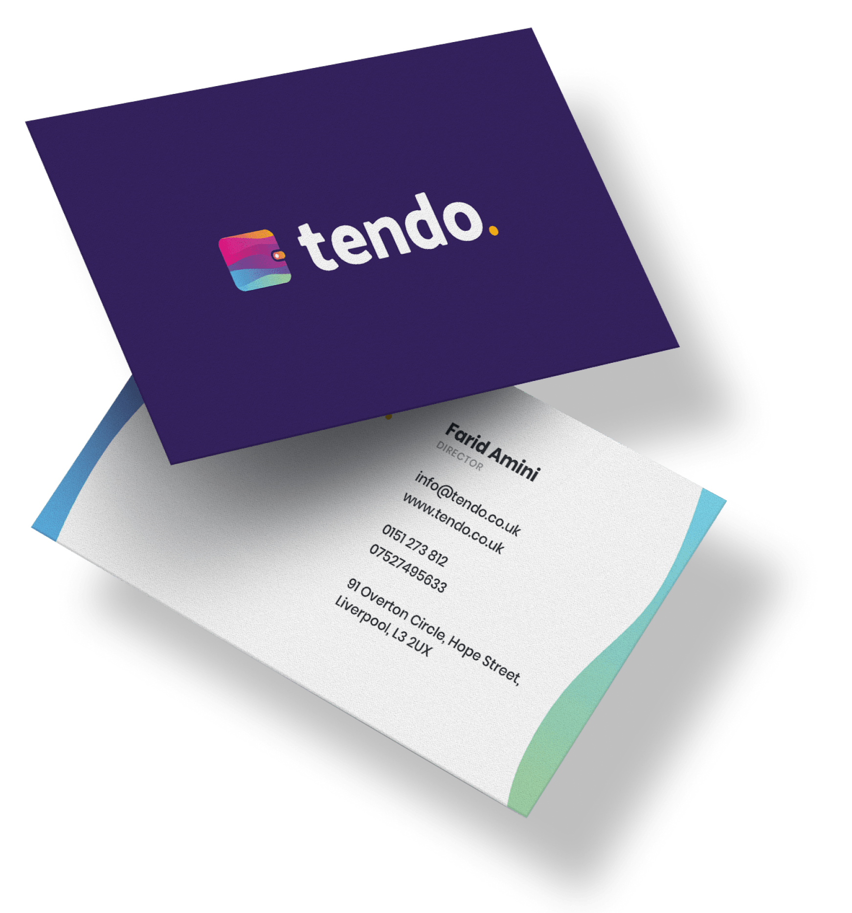 tendo business card
